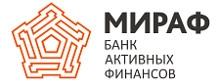 МИРАФ | БАНК АКТИВНЫХ ФИНАНСОВ